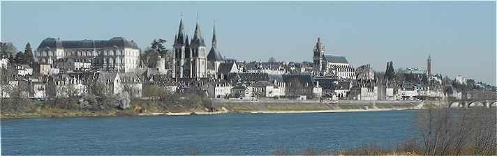 Panorama de la ville de Blois