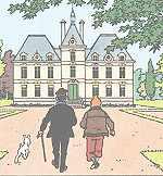 Chateau de cheverny - Le chateau de moulinsart ...