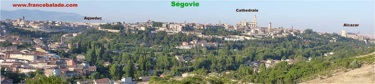 Panorama sur Ségovie