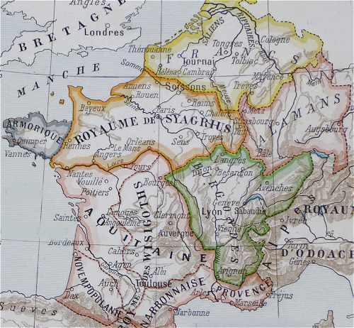 royaume barbare 4 et 5 siècle