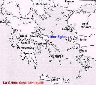HISTOIRE DES CIVILISATIONS EUROPÉENNES - LA GRÈCE ANTIQUE - L