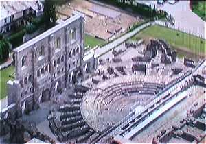 Theatre Romain d'Aoste