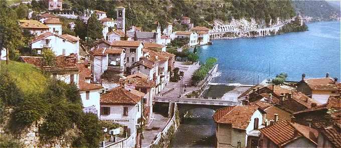 Lac de Côme: panorama sur Argegno