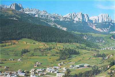 Dolomites: Moena