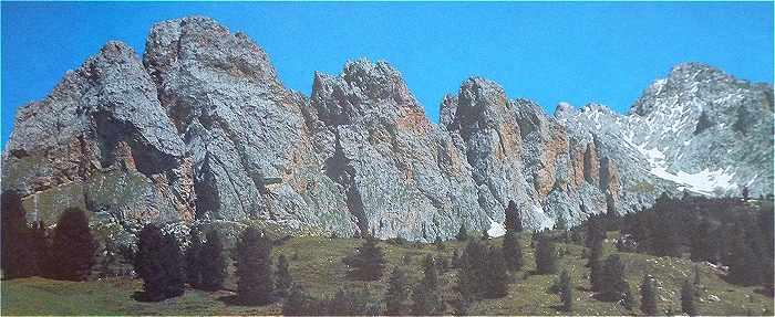Dolomites: le Sassongher (2665 m)