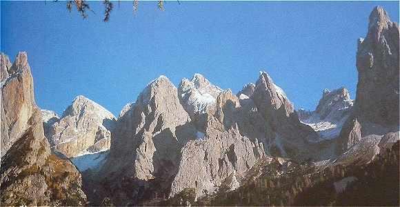 Dolomites, Groupe du Catinaccio: Tours du Vajolet