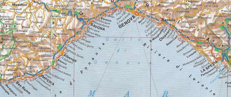 Cote d'Azur et Riviera Italienne