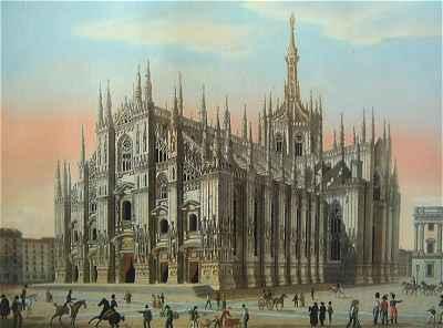 Milan: l'église du Dome