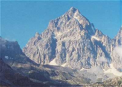 Mont Viso (3840 mètres d'altitude)