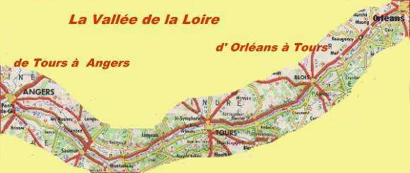 Dplacez Vous Le Long De La Loire Pour Visiter Les Villes En Cliquant Dessus
