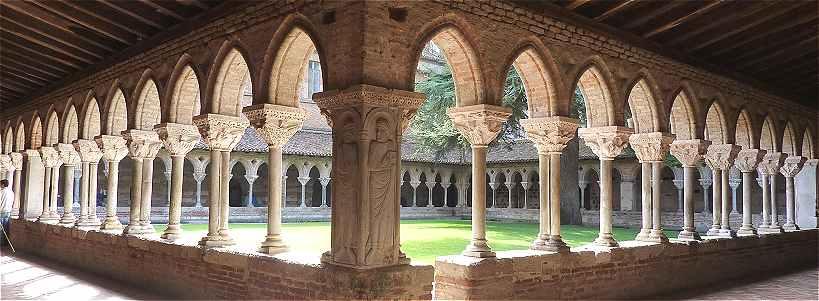 Architecture religieuse m di vale for Interieur d un couvent