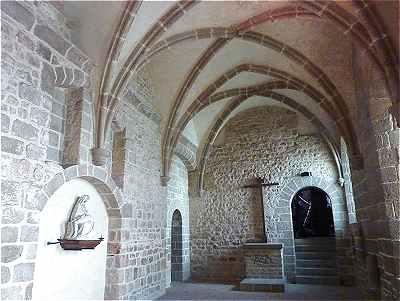 Часовня Сен-Этьен - Mont Saint-Michel (аббатство Мон Сен-Мишель)