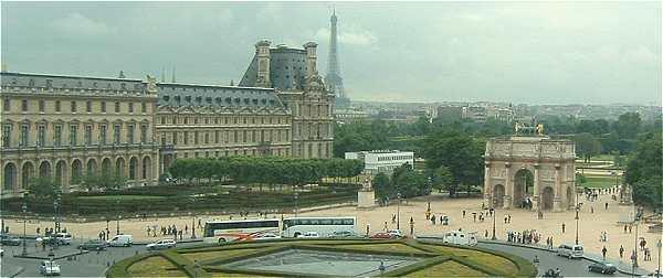 Paris le louvre et son mus e - Les jardins du louvre ...