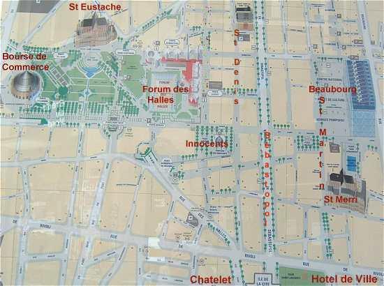 plan-de-ville-paris-quartier-chatelet