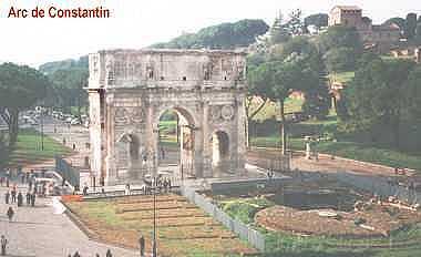Rome: Arc de Constantin