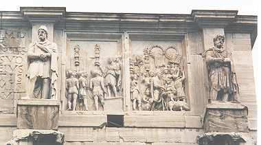Sculptures de l'Arc de Constantin