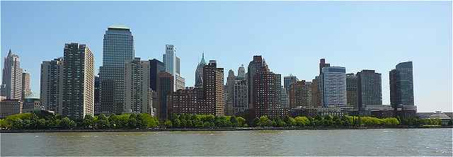 New-York: le Sud de l'�le de Manhattan