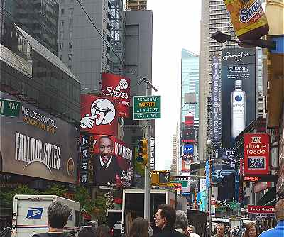 New-York: Broadway pr�s de Times Square