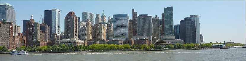 New-York: Financial District cot� Sud-Ouest de Manhattan