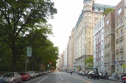 Upper West Side: Bordure de Central Park