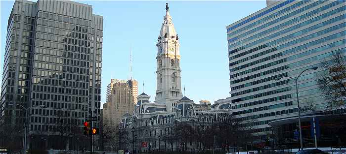 Philadelphie, au centre City Hall