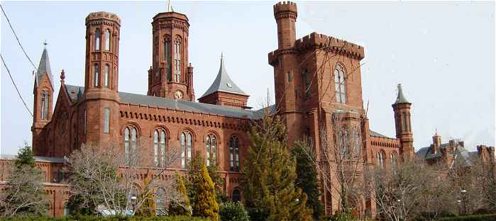 Le Smithsonian Institution  sur le Mall