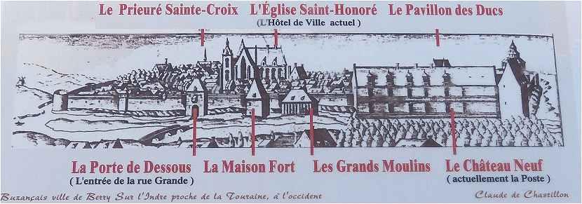 La vall e de l 39 indre de buzan ais chatillon - Office de tourisme chatillon sur indre ...
