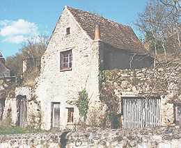 Marnay, vieille maison