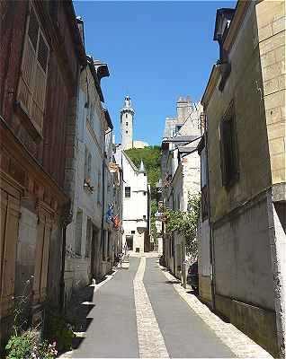 Rue du Grand Carroi � Chinon