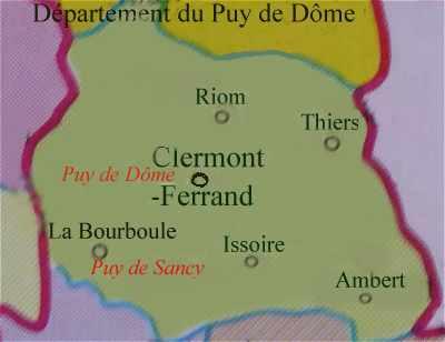 Le Département Du Puy De Dome 63